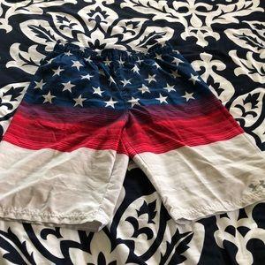 Boys Under Armour swim trunks
